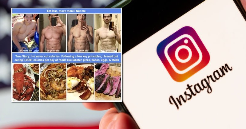 Image for Instagram Promotes Obesity While Refusing Ads For Weight Loss Programs Because They May Hurt People's Feelings