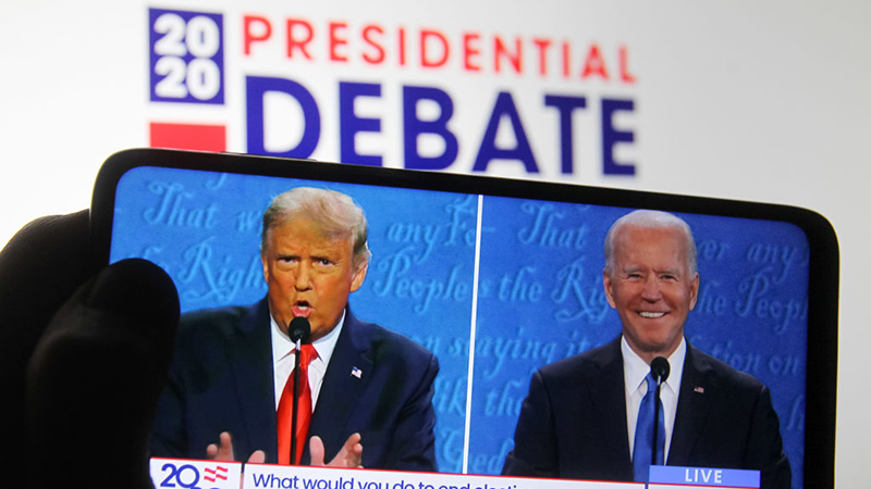 """Image for Videos: Biden Lies His Way Through Debate; Trump Asks For """"Explanation To The American People"""""""