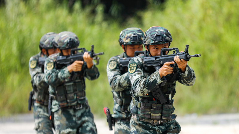 Image for China Holds Military Invasion Drill Amid Tensions With Taiwan