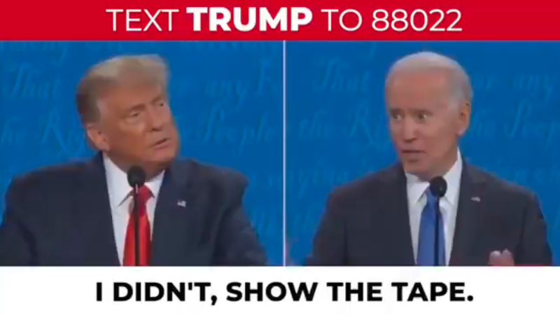 Image for Trump Releases Video Of Biden Vowing To Eliminate Fracking