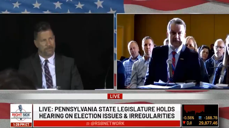 Image for VIDEO: Pennsylvania Poll Watcher Claims 47 Missing USB Drives Uploaded Up To 120,000 Illegal Votes