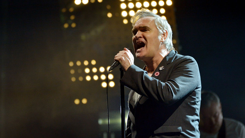 Image for Singer Morrissey Dropped By Record Label; Claims It Was Over 'Diversity'