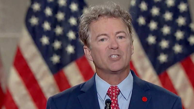 Image for Rand Paul: If Mitch McConnell Impeaches Trump, One Third Of Republicans Will Leave The Party