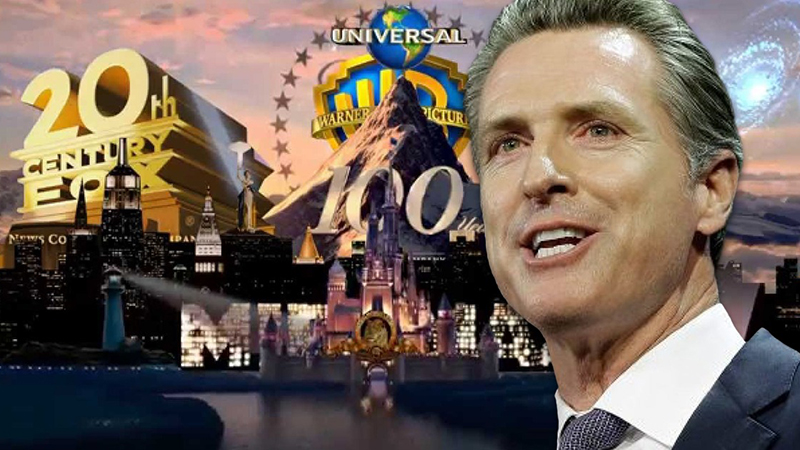 Image for California Exempts Hollywood Movie Studios From COVID Lockdowns, Restrictions
