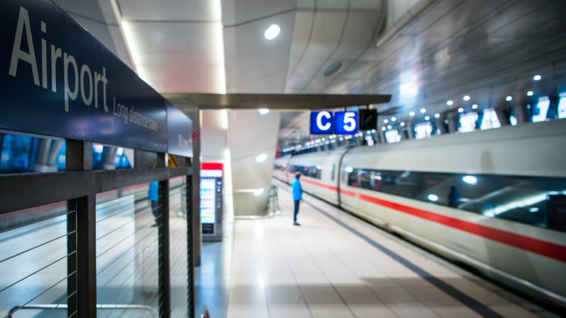 Image for African Migrant Shoves Elderly Woman Onto Train Tracks in Germany