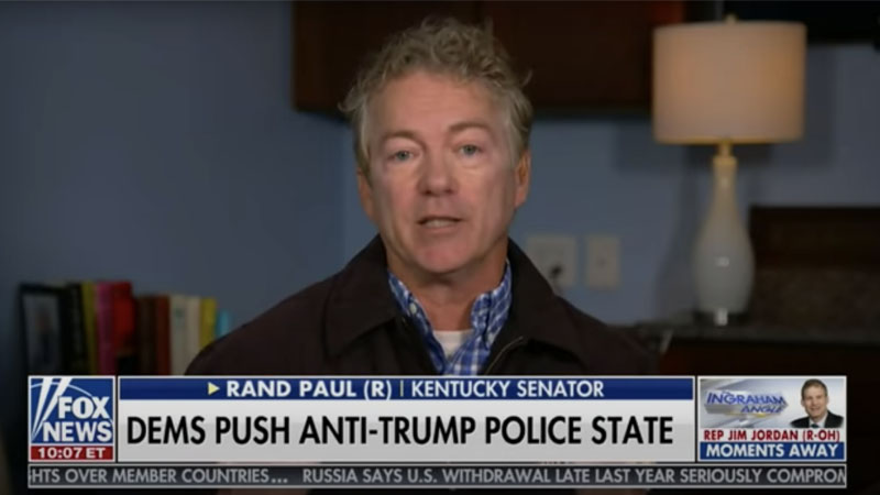 """Image for Rand Paul: Once You Have COVID Immunity, """"Throw Your Mask Away"""""""