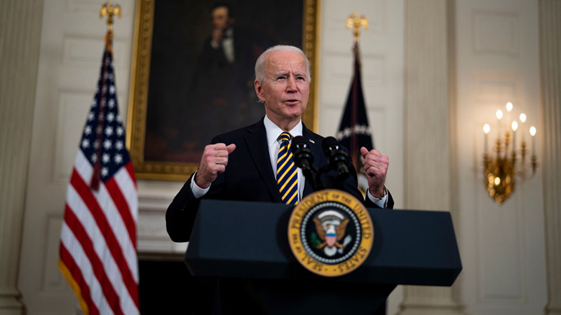 Image for One Month Into Presidency Biden BOMBS Syria