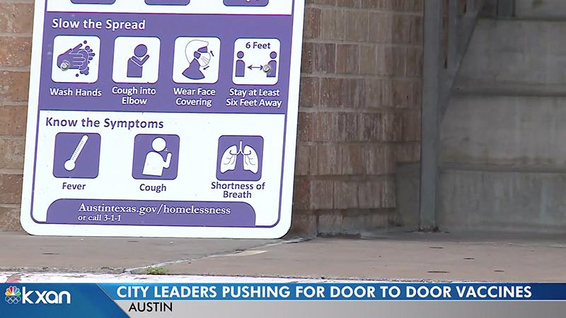 Image for Austin, Texas Preparing For Door-To-Door COVID Vaccine Distribution In Minority Neighborhoods