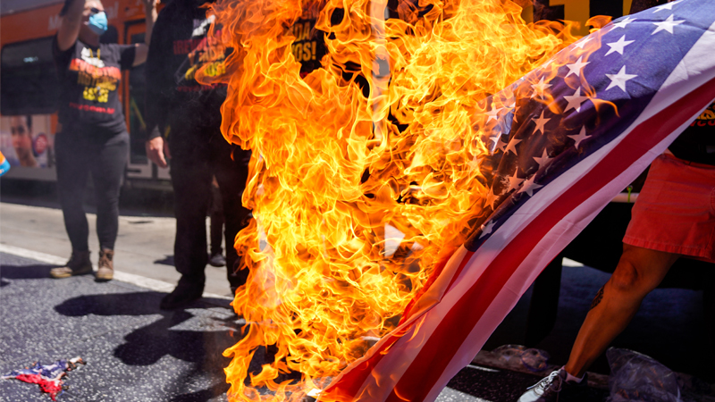 Image for Emergency Monday Broadcast: Democrats/Deep State Announce Plan to Burn Down United States