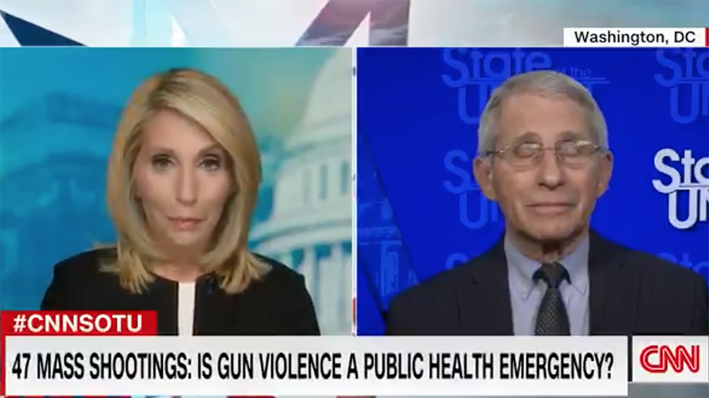 Image for Video: Fauci Now Being Interviewed About Gun Control