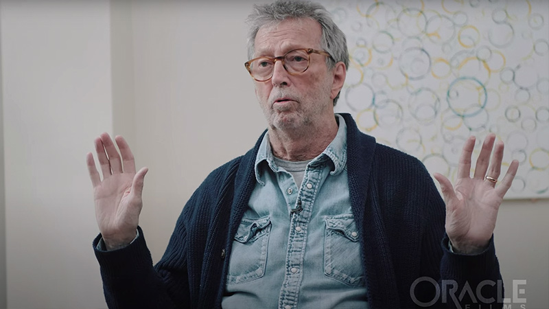 Image for Eric Clapton Slams COVID Response & Warns About Vaccine Reactions
