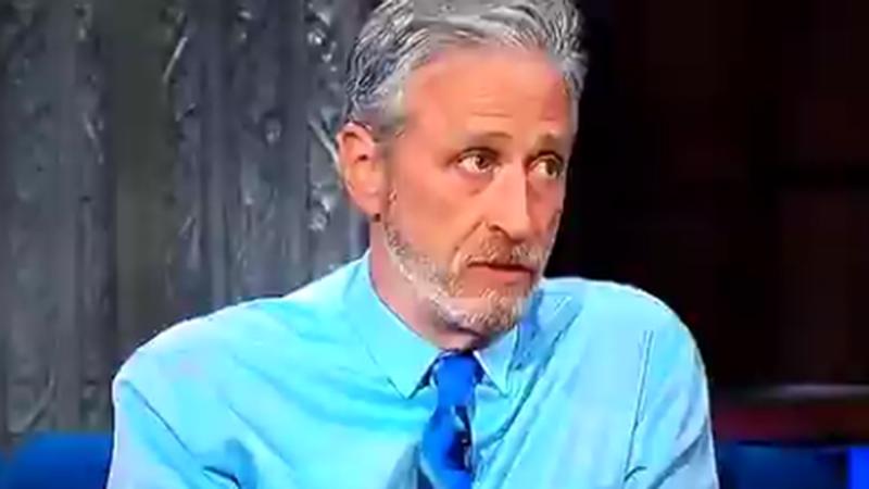 Image for Jon Stewart Hijacks Colbert Show With Lab-Leak Rant, Liberal Twitter Explodes