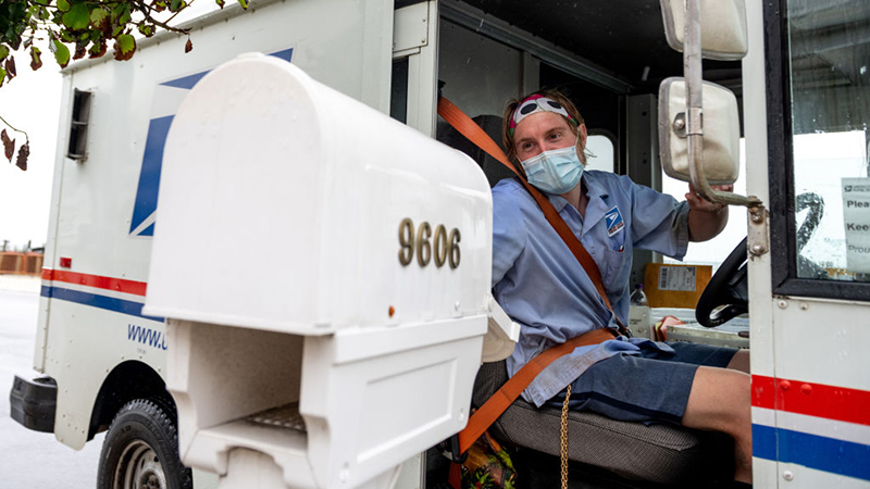 Image for Going Postal: American Postal Workers Union REJECTS Biden Vaccine Mandate