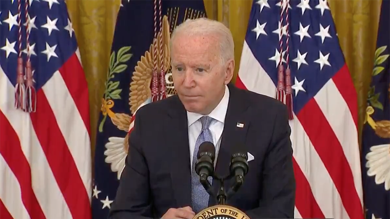 Image for Video: Biden Admits To Wanting NATIONWIDE Vaccine Mandates