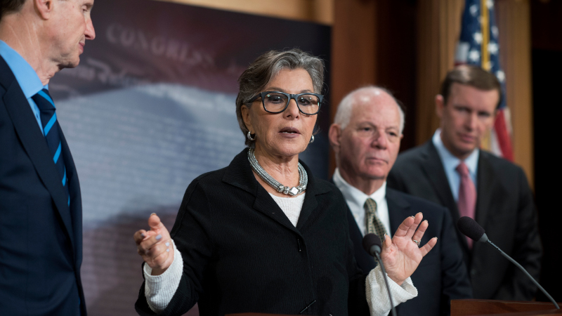 Image for Former Senator Barbara Boxer Mugged in Oakland