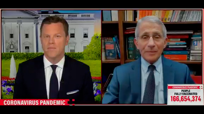Fauci Supports Vaccine Mandates & Says Now Isn't The Time For Individual Freedom – NewsWars
