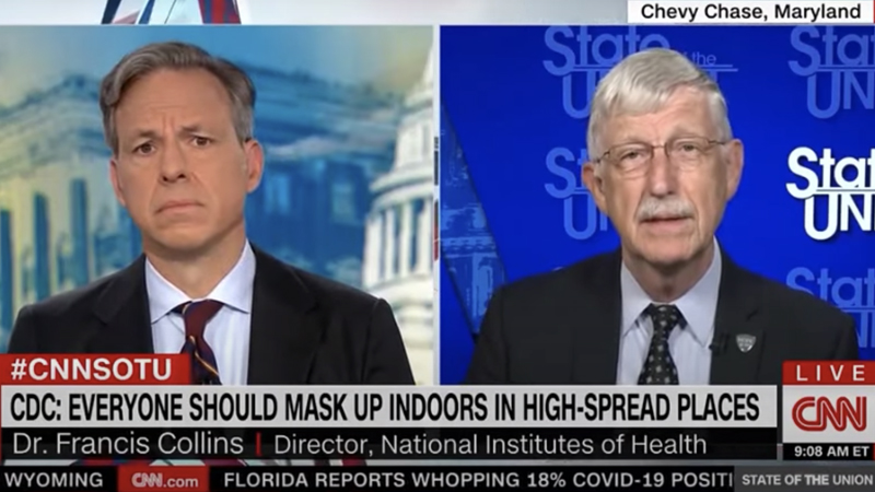 Image for NIH Director: Businesses Should Require Vaccine Proof From Customers