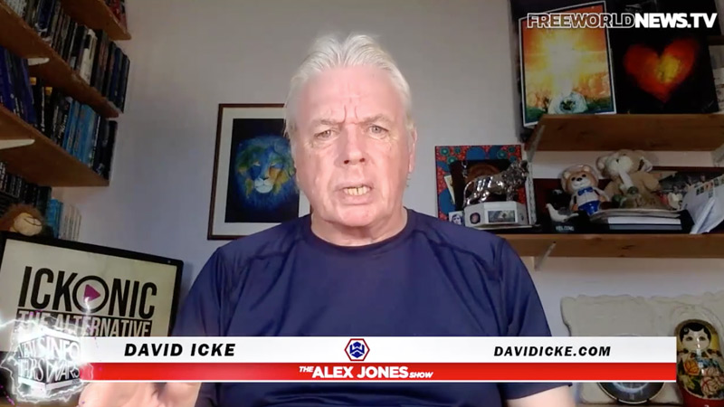 Image for Powerful Icke Interview: Trailblazer David Icke Lays Out the Road to Victory Against Globalist, Medical Tyranny