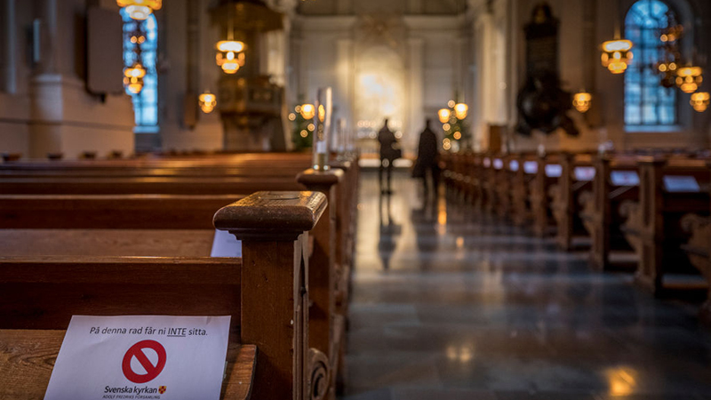 Image for Swedish Gay Priest Refuses to Wed Straight Couples