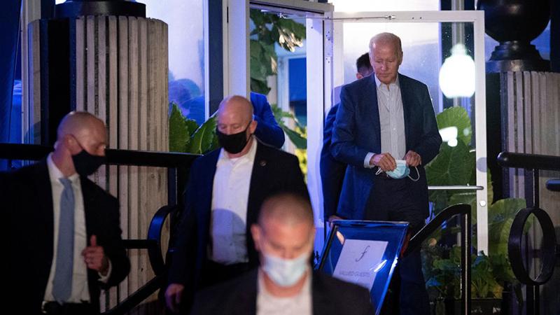 WATCH– President Biden Violates Mask Mandate in D.C. – NewsWars