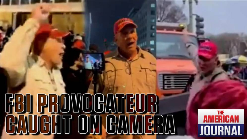 Image for Fed Provocateur Caught On Camera Inciting Jan. 6 Capitol Breach