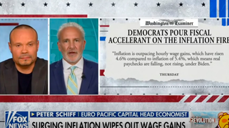 Image for Peter Schiff: Stock Up Now! Inflation Could Get Very Ugly